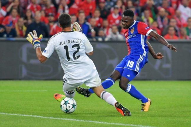 FC Basel thrash Benfica in Champions League