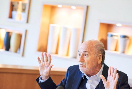 Former FIFA president Blatter says he is going to World Cup
