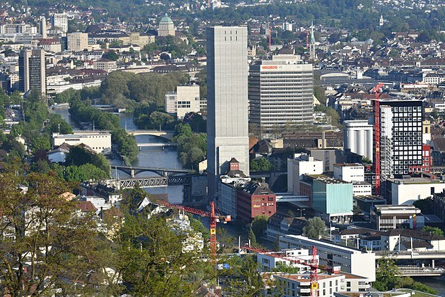 Zurich silo could become highest inner-city climbing wall in the world