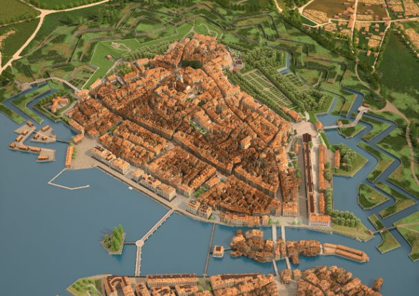 Geneva in 1850 revealed by new 19th century 'street view'