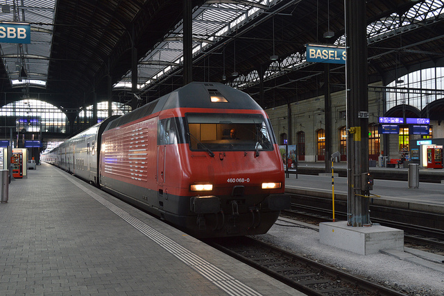Services disrupted after train derails at Basel station