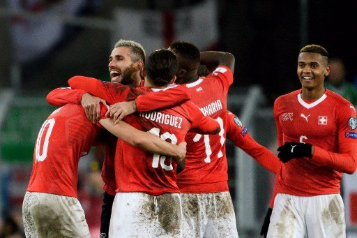 Swiss triumph over Northern Ireland to qualify for World Cup