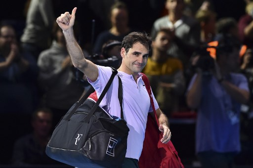 Federer happy with 'amazing year' despite loss at ATP Finals