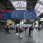 Security stepped up at Zurich train station