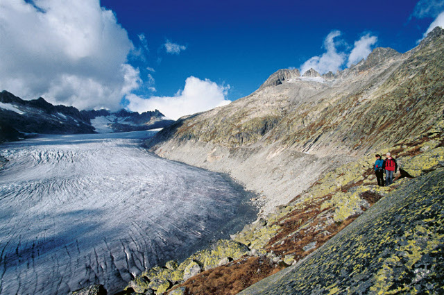 'Losing all the glaciers in Switzerland is not that far away'