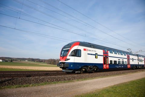 SBB pilots lower temperatures in train carriages