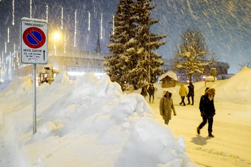 Swiss roads and rails blocked by avalanches and landslides