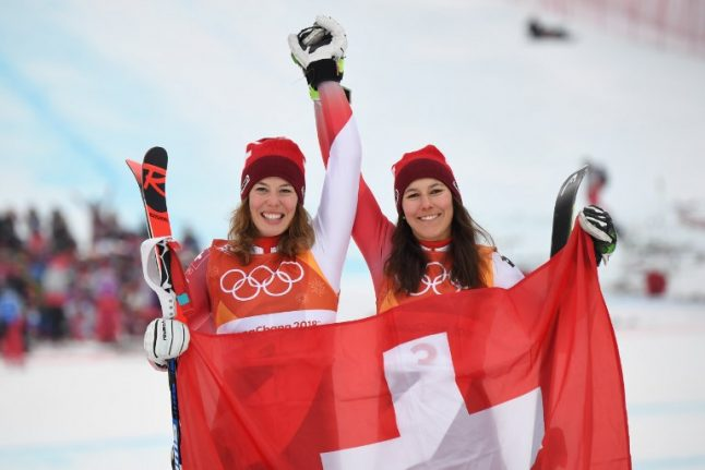 Swiss Michelle Gisin takes gold in Olympic alpine combined