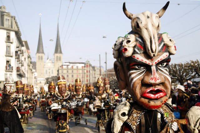Where to enjoy carnival in Switzerland this year