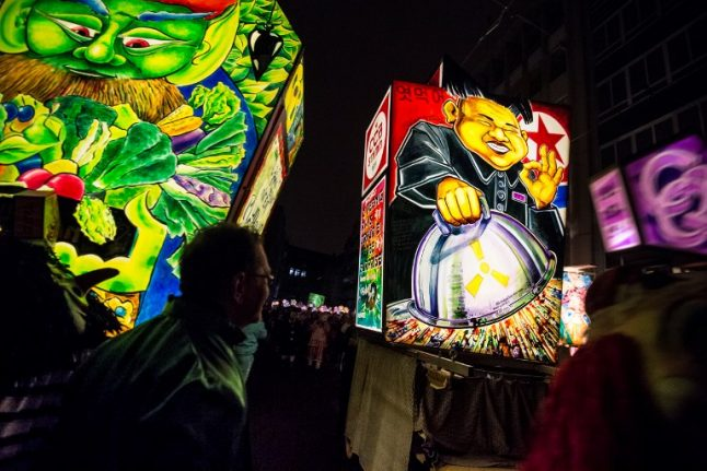 In pics: the best images of the Basel Carnival