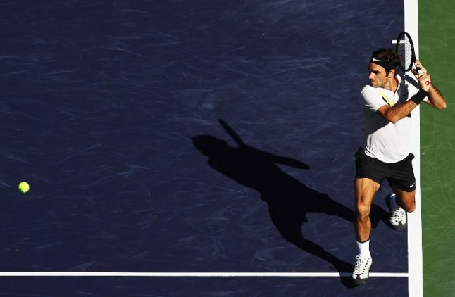 Roger Federer takes care of business in Indian Wells