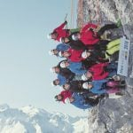 Valais students show head for heights with 'highest class photo in Switzerland'