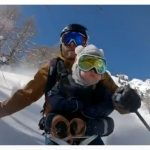 WATCH: Swiss freerider takes 17-month-old son for off-piste spin