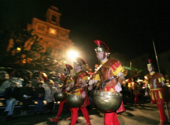 Mendrisio's Easter processions bid for Unesco 'intangible heritage' status