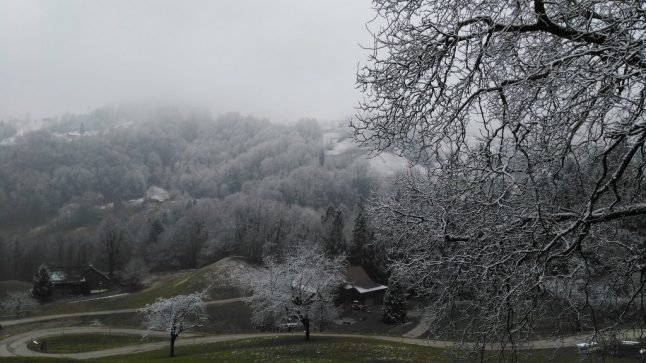 Northern exposure: Swiss winter makes March comeback