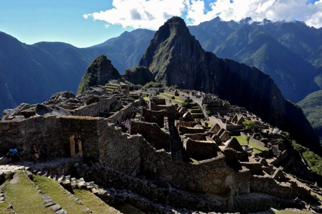 Swiss tourist kicked out of Machu Picchu over nude photos