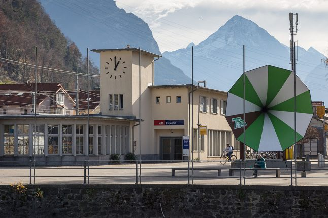 The Swiss train station where drivers keep forgetting to stop