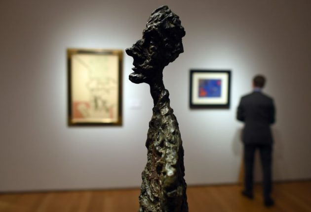 Chaotic 'lair' of Swiss artitst Giacometti to be recreated in Paris