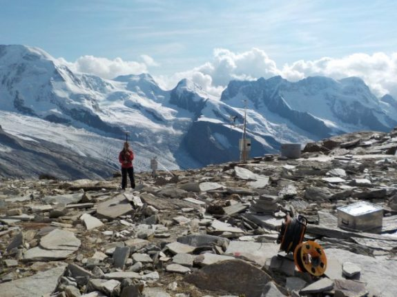 Swiss permafrost warming put on ice (for now)