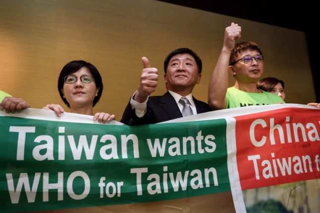 Taiwan pleads for access to key WHO meeting in Switzerland