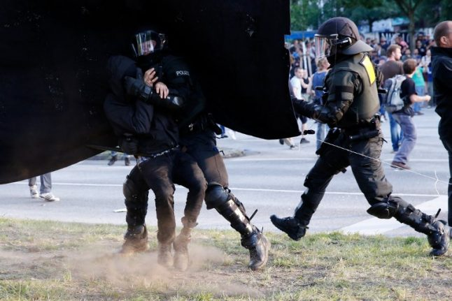 Swiss man questioned over role in G20 riots in Hamburg