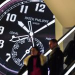 Swiss watch exports tick ahead nicely in April