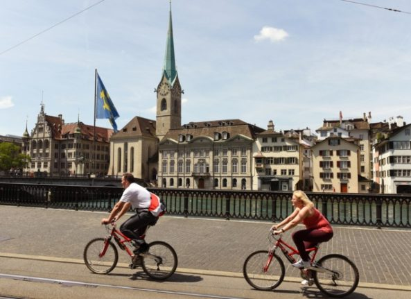 Zurich wants to let bike riders run (some) red lights