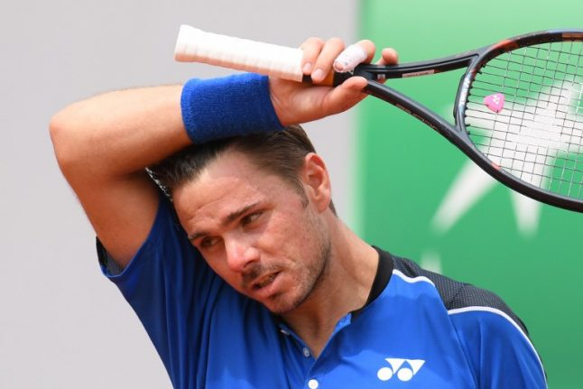 French Open: Stan Wawrinka knocked out in first round