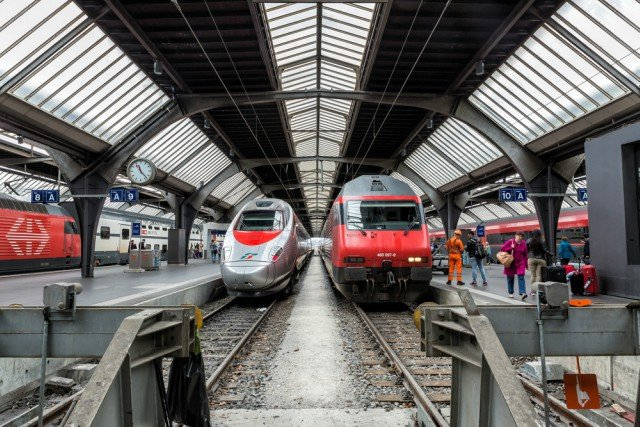This is the least punctual train in Switzerland