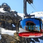 Helicopter airlifts tourists after Titlis cable car breaks down