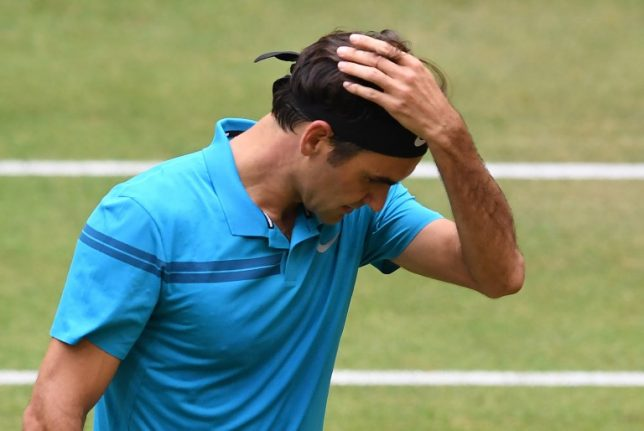 Roger Federer loses world No.1 spot after Coric defeat