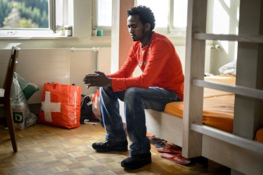 Homeless man given asylum in Switzerland told to 'buy a tent'