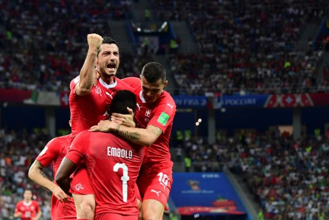Switzerland qualify for World Cup last 16 after drawing 2-2 with Costa Rica