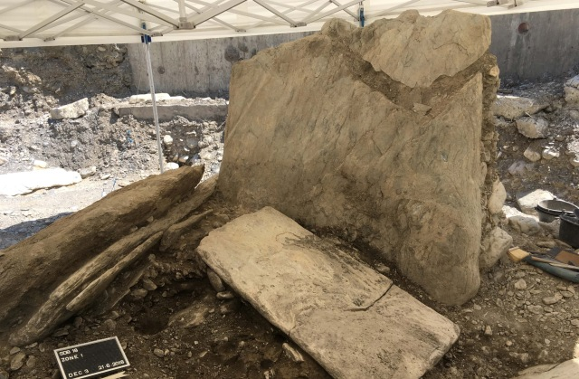5,000-year-old dolmen discovered during construction of Swiss garage