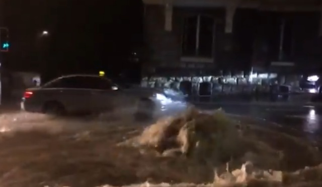 Wild weather: chaos as torrential rainfall strikes Lausanne