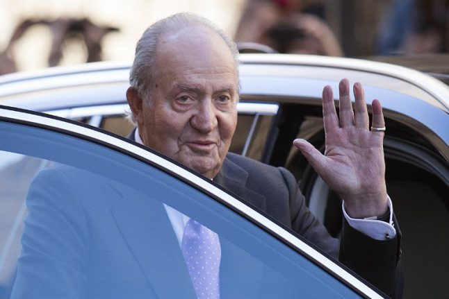 Former Spanish king accused by alleged former lover of holding secret Swiss bank accounts to launder funds