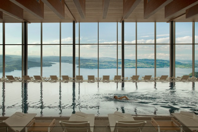 This is the best hotel in Switzerland (according to GaultMillau)