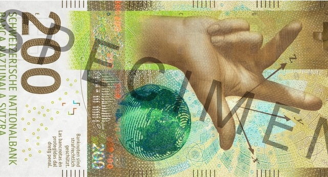 This is how Switzerland's new 200-franc note looks