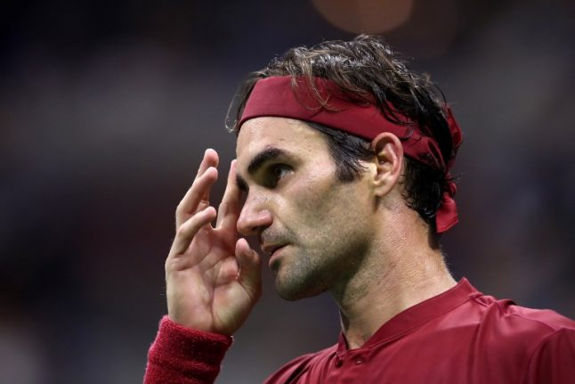 Five-time champion Federer knocked out of US Open by Aussie Millman