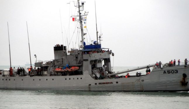 Nigeria vows to free sailors from Swiss pirate attack ship