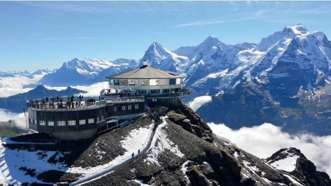 Switzerland's 'James Bond mountain' set for new cable car link
