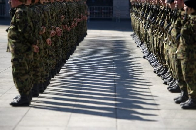 Swiss soldier fined for shooting himself in foot