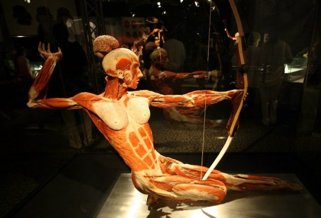 Torture fears see Lausanne ban exhibition on human bodies