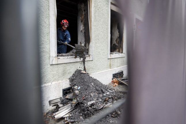 Police suspect cigarette behind deadly Swiss apartment blaze