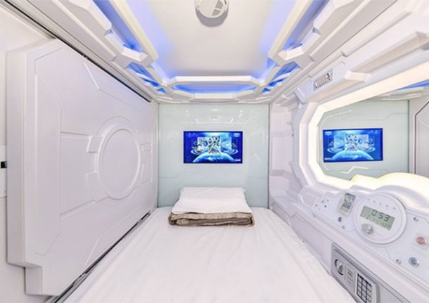 Switzerland's first capsule hotel closes after just one week