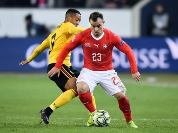 Football: Switzerland to face Portugal in Nations League semis