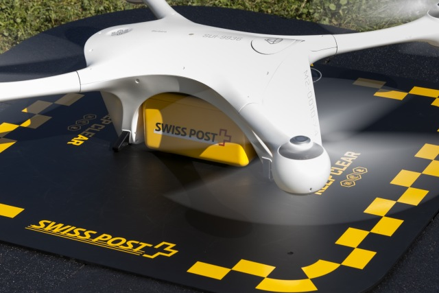 Swiss Post to use drones for lab sample deliveries in Zurich