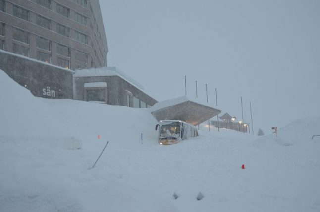 Clean-up begins after avalanche crashes into hotel in eastern Switzerland