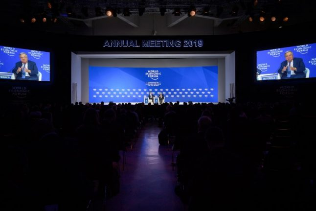 From slowing growth to climate panic: hot topics at Davos 2019