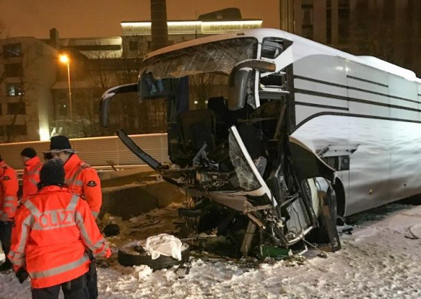 Deadly Zurich bus accident claims second victim